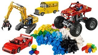 Cars for Kids - Learn Street Vehicles Names and Sounds Building Blocks Toys - Vehicles for Children