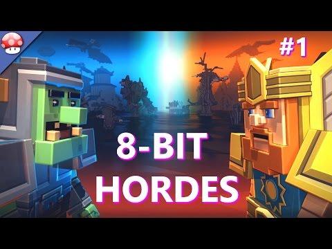 8-Bit Hordes Gameplay Walkthrough Part 1 [1080p HD PC] - No Commentary