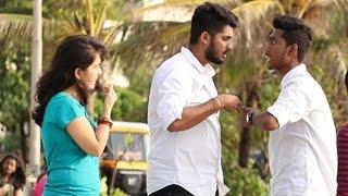 Couple Fighting In Public Prank - Baap Of Bakchod - Raj & Farishtey