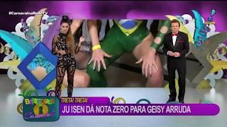 Modelo mostrando o cu ao vivo no carnaval 2017 na rede TV 😨