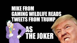 Mike Reads Trump Tweets as The Joker