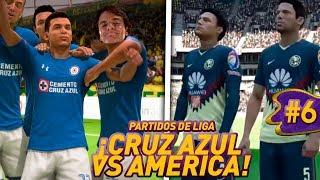 FIFA 18 MODO CARRERA CRUZ AZUL -CRUZ AZUL VS AMERICA Y PUMAS!! #6