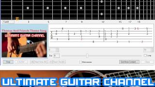[Guitar Solo Tab] Thomas And Friends Theme Song (Thomas And Friends)