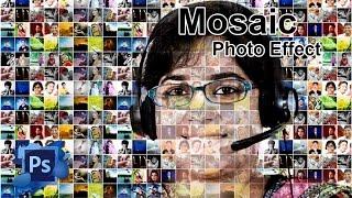 How To Create A Photo Mosaic In Photoshop CS6, CC, CS5, CS3 Easily   Photo Manipulation