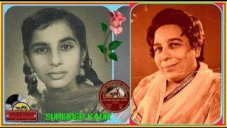 .SURINDER KAUR & SHAMSHAD Begum-Film-LAAL DUPATTA-[1948]~Meri Phool Bagiya Mein Aayi-[Rarest Gem-