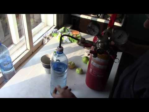 Как дома сделать воду с газом