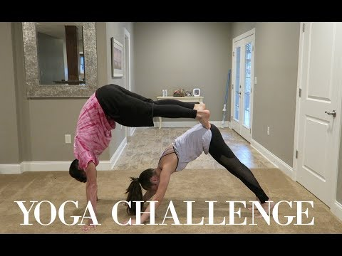 Xxx Mp4 Couples Yoga Challenge 3gp Sex