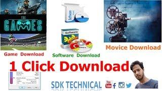 Download Single Click  Game Movice  Software  HINDI 2017