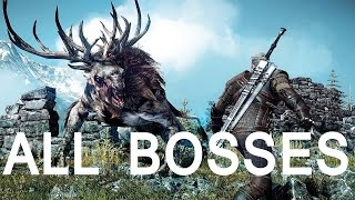 Witcher 3: All Bosses