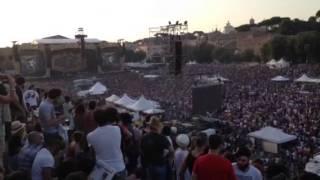 Panoramica Rolling Stones Circo Massimo