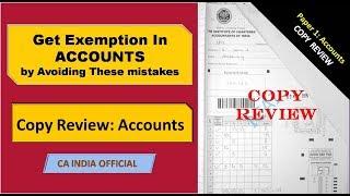 IPCC Accounting  Certified Copy Review | CA INDIA | CA/CS/CMA
