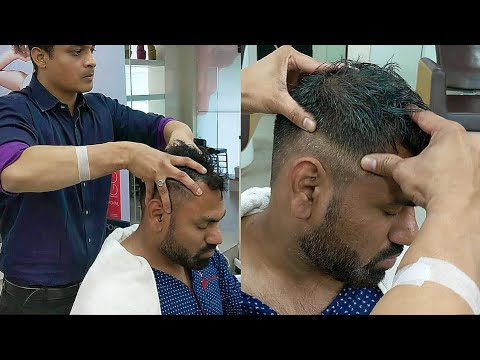 Xxx Mp4 Pressure Point Head Massage With Figure Elbow Neck Cracking By Indian Barber Rizwan 3gp Sex
