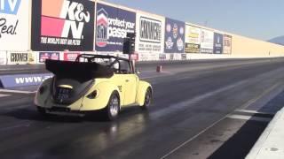 Worlds quickest aircooled Street legal VW, no wheelie bars 8.95@158mph