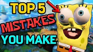 Top 5 Mistakes YOU Can Fix in SpongeBob SquarePants: Battle for Bikini Bottom Speedruns