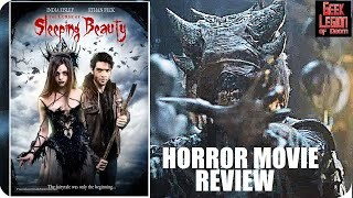 THE CURSE OF SLEEPING BEAUTY ( 2016 Ethan Peck ) Horror Fantasy Movie Review
