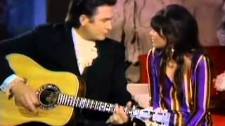 Linda Ronstadt & Johnny Cash - I Never Will Marry