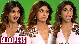 Shilpa Shetty FUNNY BLOOPERS Video During Super Dancer Promo