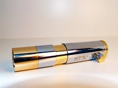 KTS+ Kamry Telescoping Storm Mechanical Mod Review Electronic Cigarette