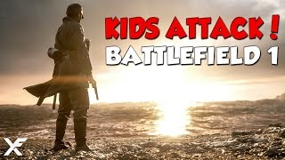 When Kids Attack - Battlefield 1 Epic and Funny Moments