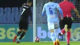 Cristiano Ronaldo Shocking Miss vs Celta Vigo