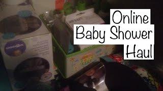 Online Baby Shower Haul | Teen Mom