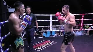Kru Fa  fights in a 4 man tournament at Galaxy Stadium