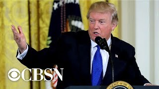 """Trump walks back statements on """"oppo research"""""""