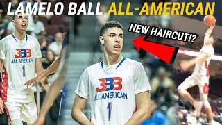 LaMelo Ball Rocks NEW HAIRCUT In Last High School Game! BBB All Star Game Went CRAZY 😱