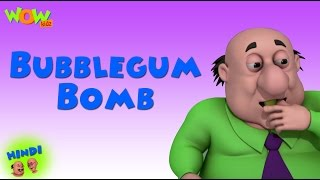 Bubblegum Bomb - Motu Patlu in Hindi - ENGLISH & FRENCH & SPANISH SUBTITLES! - 3D Animation Cartoon
