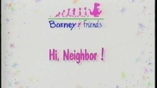Barney & Friends: Hi, Neighbor! (Season 1, Episode 21)