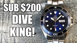 The BEST Automatic Diver Under $150! Orient Ray II (FAA02005D9) - Perth WAtch #290