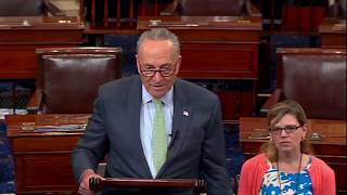 "Chuck Schumer BRILLIANT Takedown of Trump For Wanting Health Care To Fail ""he is just NOT a Leader"""
