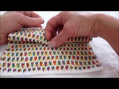 Crochet Interlocking Rows Tutorial
