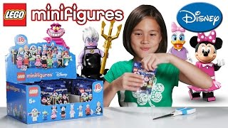 LEGO DISNEY MINIFIGURES - PART 2!!! JillianTubeHD Blind Bag UNBOXING!