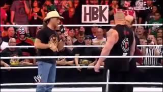 Brock Lesnar vs Triple H Summerslam 2012