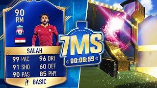 🔥 TOTS SALAH (LIVERPOOL) 7 MINUTE SQUAD BUILDER! - FIFA 17 ULTIMATE TEAM