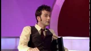 David Tennant-Fan asks to ruffle his hair!