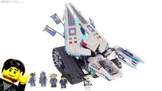 LEGO Ninjago Movie Ice Tank review! 70616