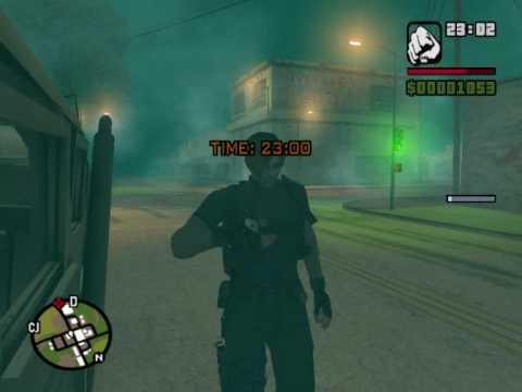 GTA San Andreas Misterios con loquendo parte 1.