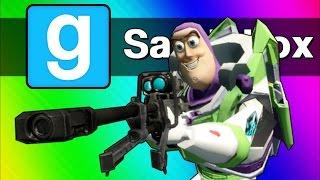 Gmod Sandbox Funny Moments - Sniper Battle, Ninja Vanish, C4 Cocoon! (Garry's Mod)