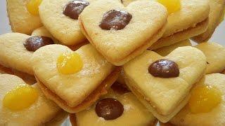 شیرینی مارمالادی Marmalade Cookies   Shirini Marmaladi