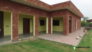 44 KANAL BEAUTIFULLY LOCATED FARM HOUSE IS AVAILABLE FOR SALE IN BARKI ROAD LAHORE