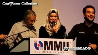 Tun Dr Mahathir Mohamad berduet with Dato Siti Nurhaliza-My Way (The Journey)
