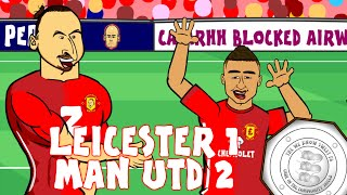 Zlatan WINS IT! Community Shield 2016/17 (Leicester 1-2 Man Utd Ibrahimovic, Lingard amazing goal)