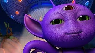 Aaya Hai Ek Dost! Alien | Hindi Rhymes for Children | Infobells