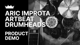 Remo: Aric Improta - ArtBEAT™ Drumhead Performance