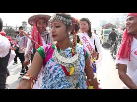 Tharu Dance : Maghi 2072 Khulamanch