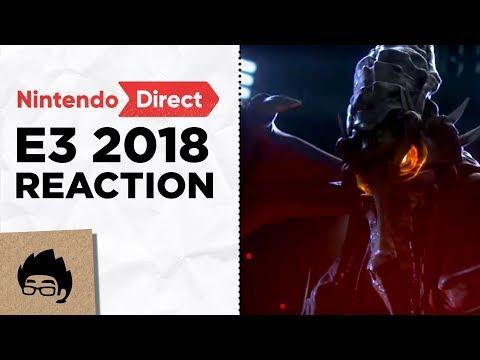 Artsy Omni reacts to Nintendo Direct E3 2018