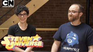 CN PLAYIN | Save the Light: Interview with Rebecca Sugar & GrumpyFace | Cartoon Network