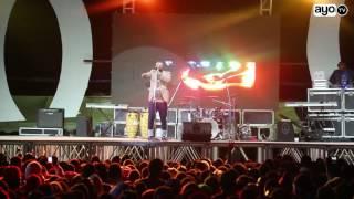 Fid Q ,DJ D Ommy na Young Killer walivyolitikisa jukwaa la fiesta Singida